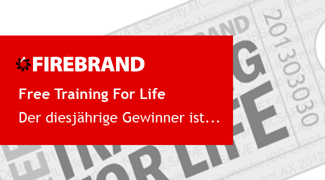 Der Gewinner von Free Training For Life 2018