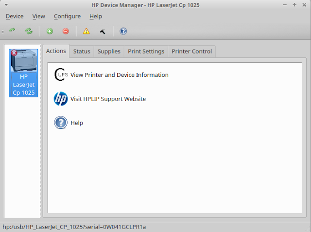 HP Device Manager on UBUNTU 16.04 http://newcomerubuntu.blogspot.co.id