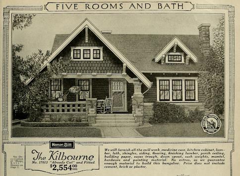 catalog house image and price Sears Kilbourne 1923 sears modern homes catalog
