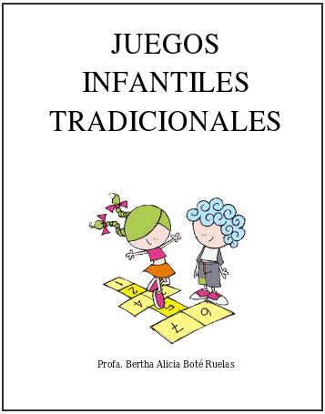 Coleccion De Juegos Juegos Infantiles Tradicionales Coleccion Para