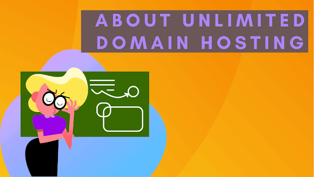 About unlimited domain hosting
