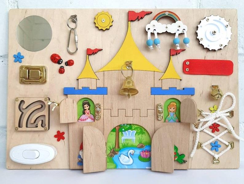 sol busy toys montessori busy board