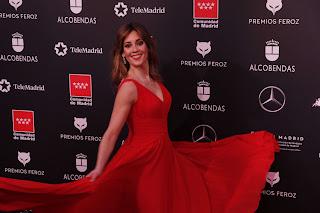 Eva Ugarte en los Premios Feroz 2020