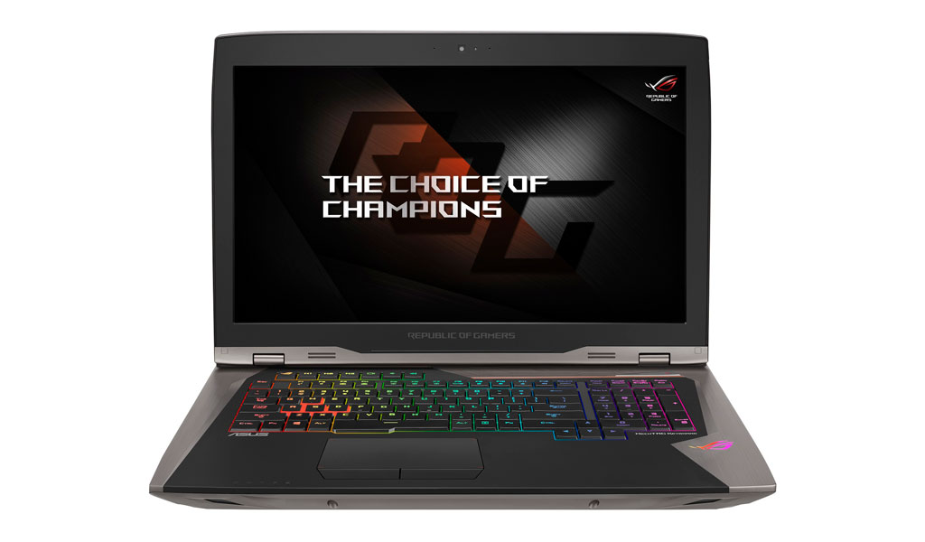 ROG GX800 without the cooling dock