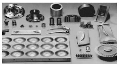 Contoh komponen yang dihasilkan dari penggunaan ECM