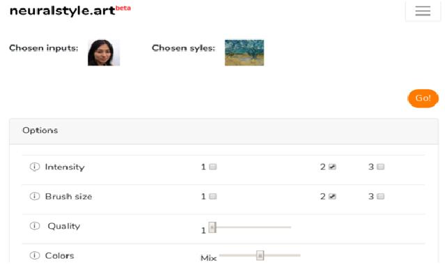 NeuralStyle.Art (Web) Most Powerful Artistic Filter App