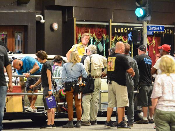 Érase una vez en Hollywood detrás de las cámaras