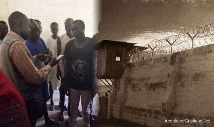 Misionero evangeliza en prisión de Sudán del Sur