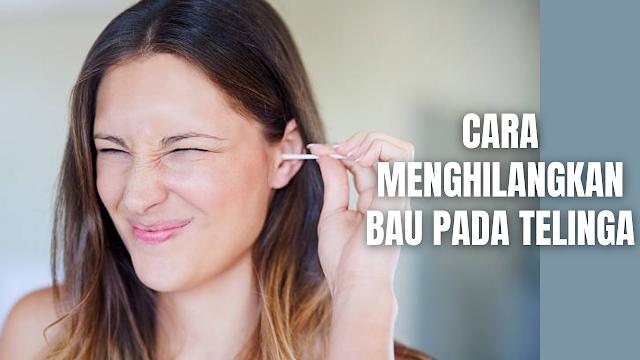 """Cara Menghilangkan Bau Pada Telinga Bau pada telinga memanglah sangat manggangu, ditambah lagi apabila sering berada ditempat umum, rasa percaya diri akan terasa berkurang karena adanya bau pada telinga. Bau pada telinga disebabkan oleh beberapa hal yang diantaranya :  Kurang menjaga kebersihan telinga Debu dan polusi Kotoran telinga Infeksi  Untuk mengatasi masalah bau pada telinga ada beberapa cara yang bisa dilakukan yang diantaranya adalah :  Selalu membersihkan seluruh bagian tubuh, termasuk telinga luar dan dalam. Pastikan membilas sampai bersih semua produk perawatan kulit yang digunakan, agar tidak ada yang menyumbat pori. Pakai krim antibakteri, antijamur, maupun anti-peradangan, sesuai dengan anjuran dokter tergantung penyebab awalnya. Jaga agar bagian atas, bawah, depan, dan belakang telinga tetap kering. Usahakan untuk selalu mengelap telinga kapan pun terasa basah guna menghindari kondisi lembab yang bisa memicu tumbuhnya jamur dan bakteri. Pakai minyak esensial, akan membantu untuk menenangkan kulit sekaligus meredakan bau telinga yang membandel.    Nah itu dia bahasan bagaimana cara menghilangkan bau pada telinga. Melalui bahasan di atas bisa diketahui mengenai cara menghilangkan bau telinga. Mungkin hanya itu yang bisa disampaikan di dalam artikel ini, mohon maaf bila terjadi kesalahan di dalam penulisan, dan terimakasih telah membaca artikel ini.""""God Bless and Protect Us"""""""