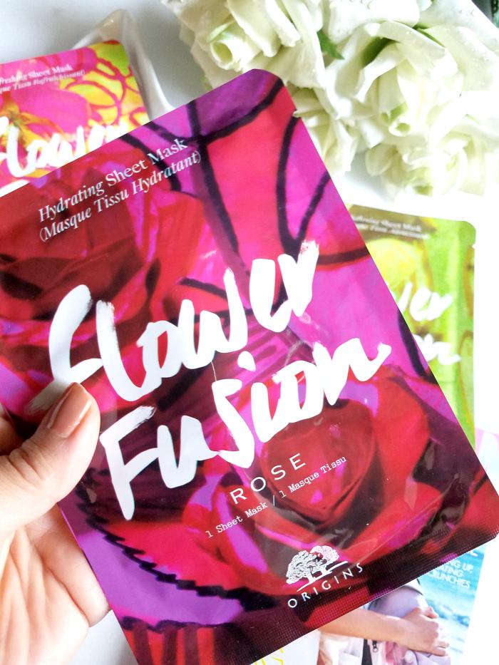 Review: ORIGINS - Flower Fusion Sheet Masks - Hydrating Sheet Mask Rose - Madame Keke Luxury Beauty Lifestyle Blog