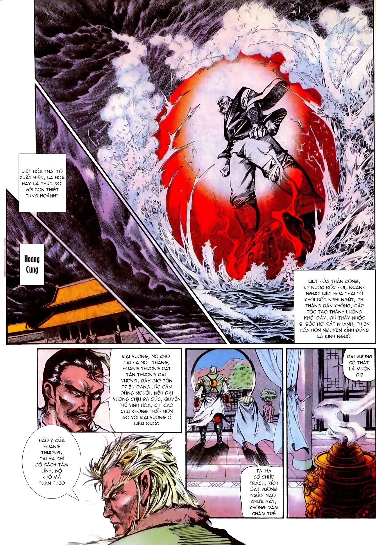 Thiết Tướng Tung Hoành Chap 272 - Trang 3