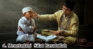 Meneladani  Sifat Rasulullah merupakan salah satu hikmah memperingati peringatan maulid nabi
