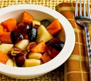 ensalada de frutas de invierno para la psoriasis