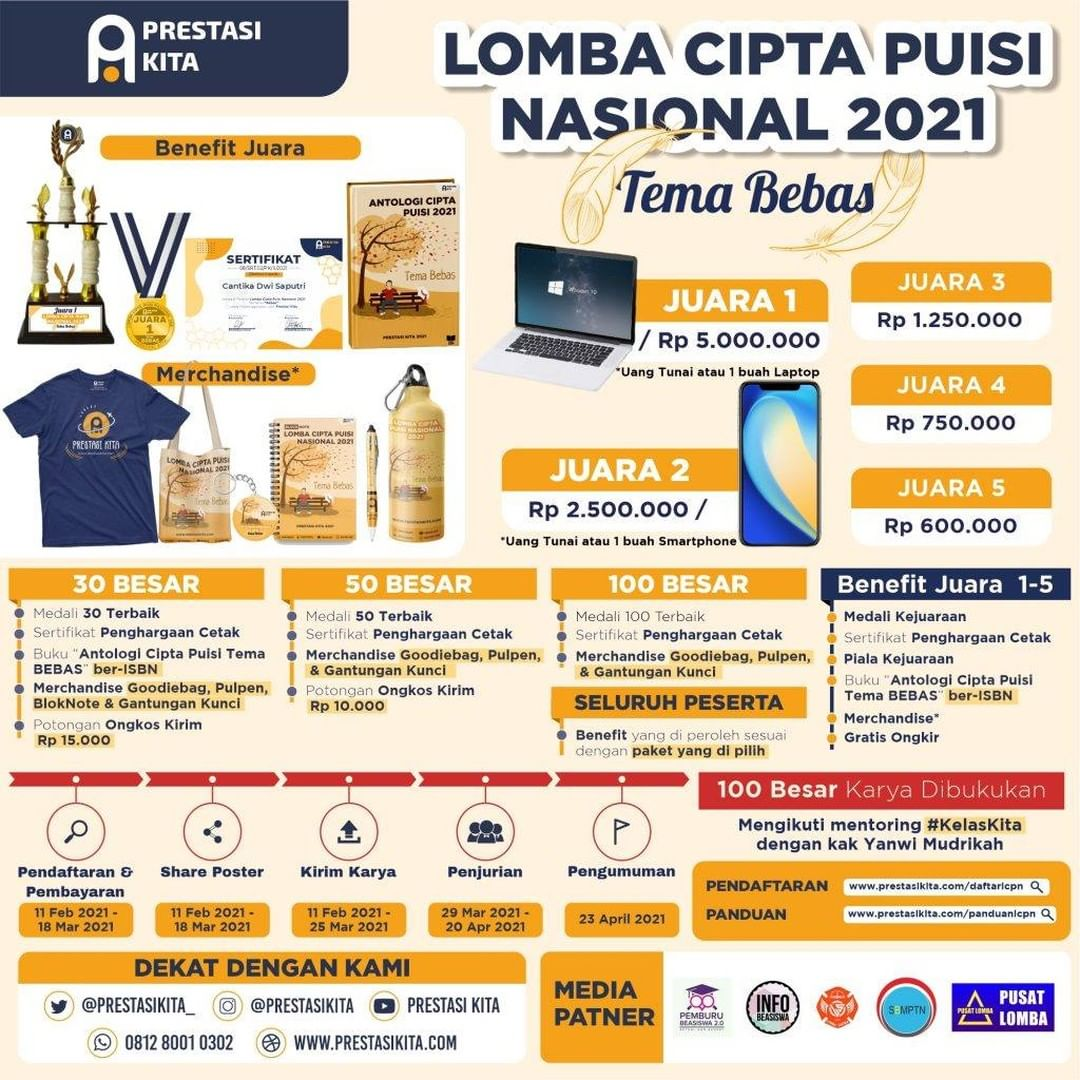 info lomba puisi