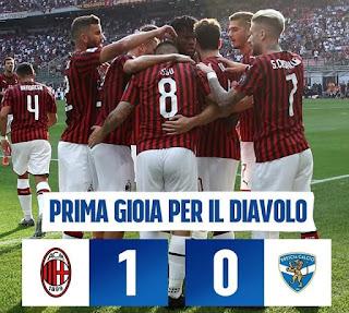 AC Milan vs Brescia - IGmilano.rossonera