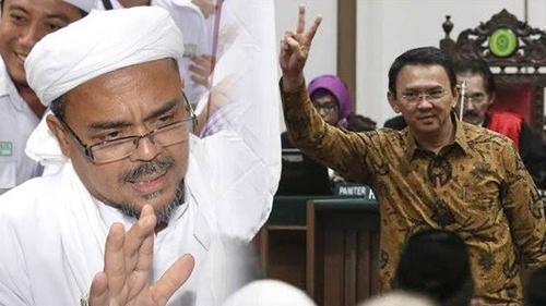 Singgung Vonis Habib Rizieq, Netizen Ungkit Ucapan Ahok: Ulama Lawan Tuhan Akan Dipermalukan