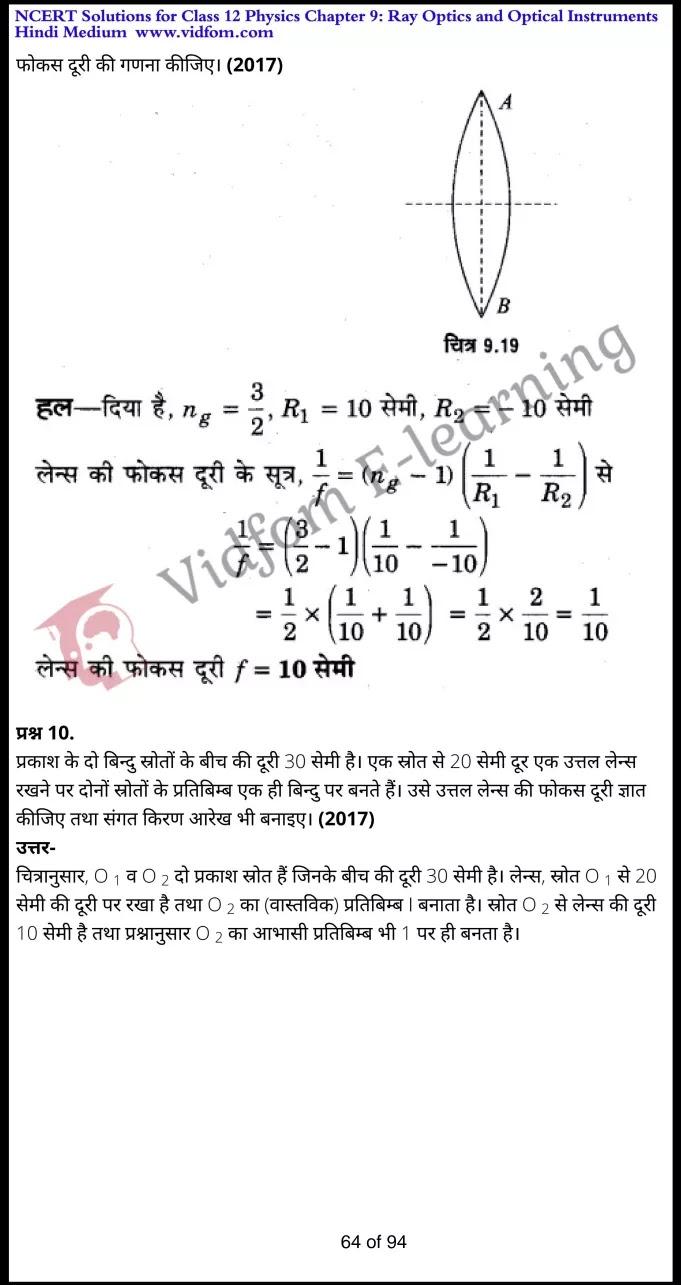 class 12 physics chapter 9 light hindi medium 64