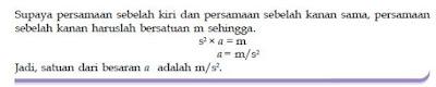 Penetapan Faktor Penggali, Tabel Dimensi 7 Besaran Pokok dan Konversi Satuan Dalam Fisika