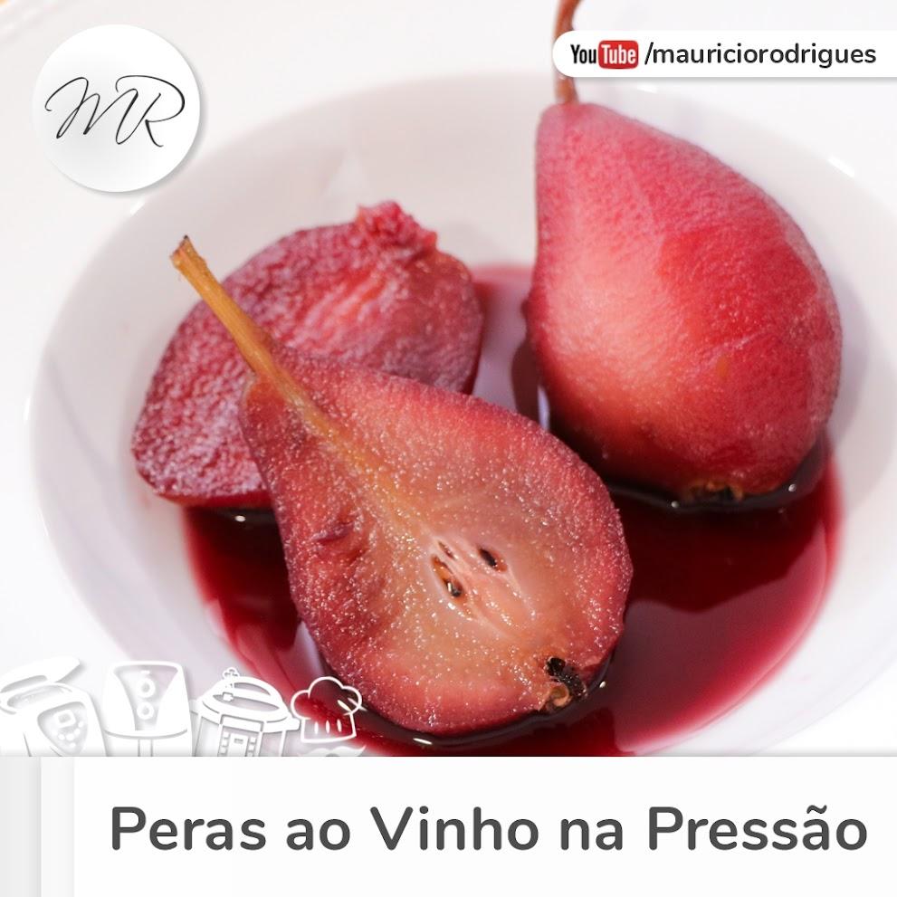 VÍDEO - Peras ao Vinho na Panela de Pressão Elétrica!