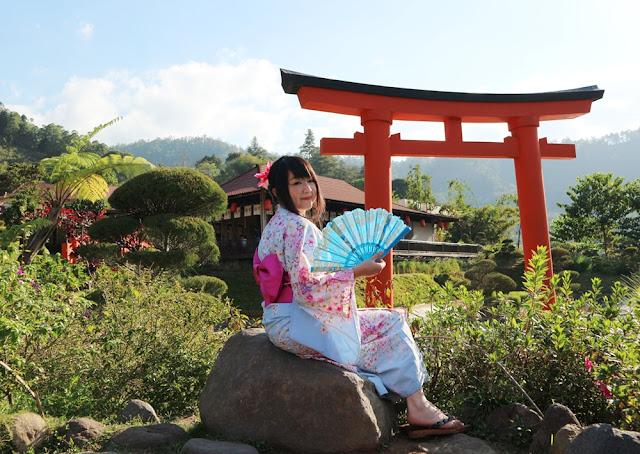 Menikmati Suasana Jepang di The Onsen Resort, Batu Malang