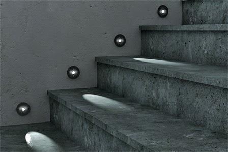Mini faretto led 1w punto luce orientabile luce fredda e for Segnapasso led per scale interne