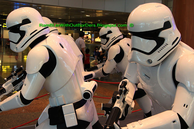 Star Wars Stormtrooper, SM Mall of Asia, Manila, Philippines