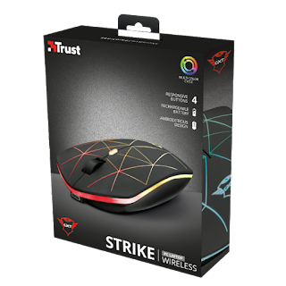 TRUST 22625 MOUSE GIOCO WIRELESS RICARICABILE GXT 117