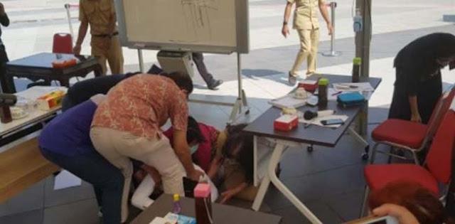 Di Hadapan IDI Surabaya, Dua Kali Risma Sujud Dan Minta Maaf