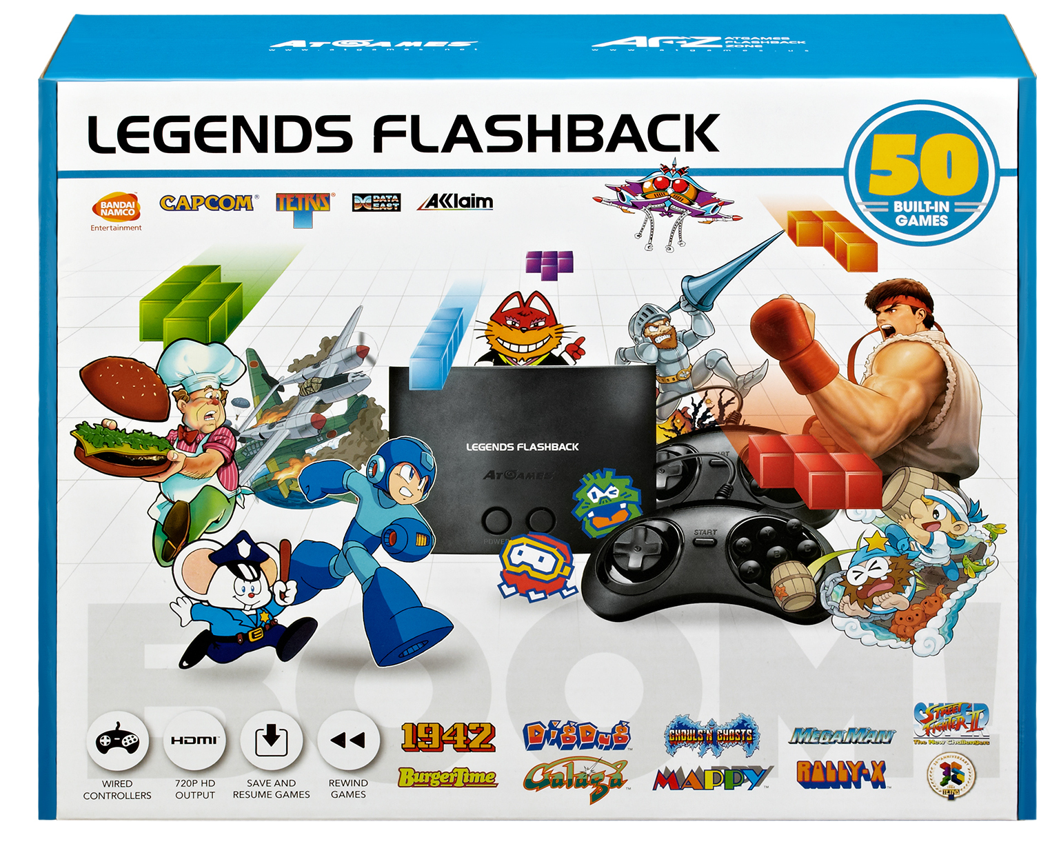 The Edge: AtGames Launches Their Retro Inspired Legends Flashback Console