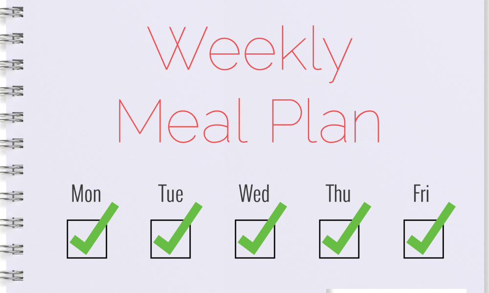 Lose weight in a week with meal plan