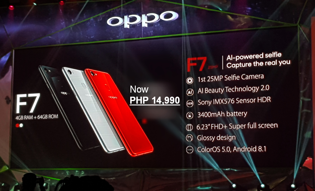 OPPO F7 Philippines