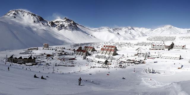 Esquiar na região de Mendoza