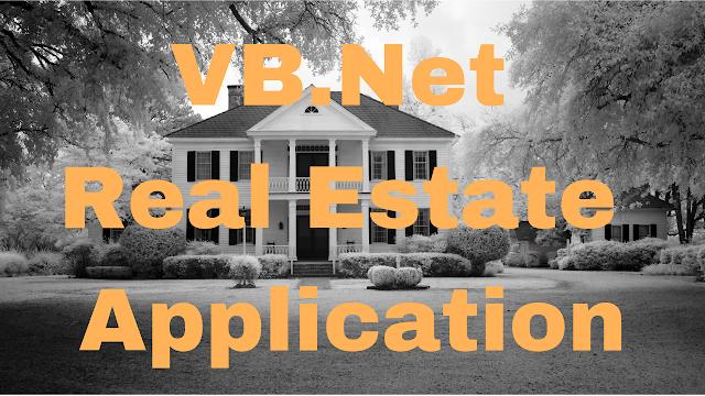 Real Estate Management System Project Using VB.Net