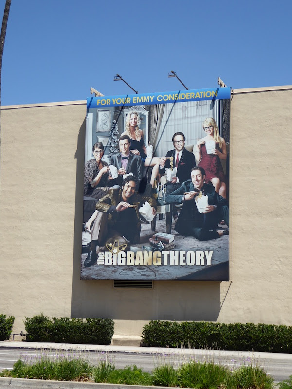 Big Bang Theory 2016 Emmy billboard