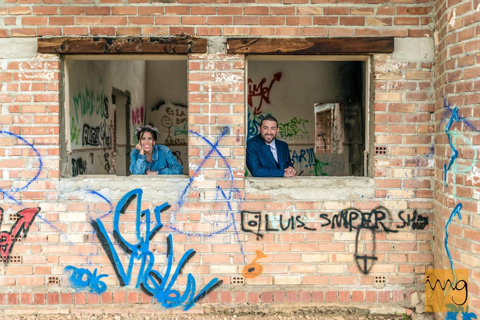 Fotógrafo de boda creativo en Granada