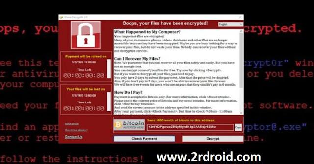 كيفية حل مشكلة فيروس WannaCrypt و تعلم كيف تحمى نفسك منه