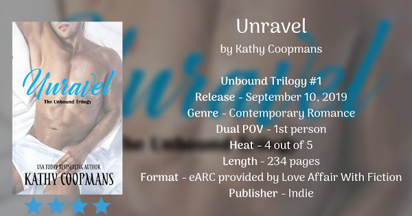 UNRAVEL by Kathy Coopmans