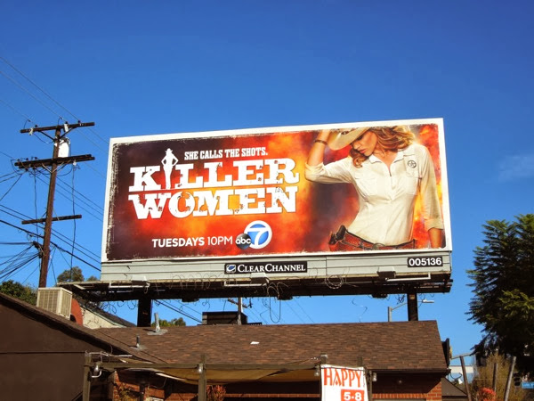 Killer Women season 1 billboard