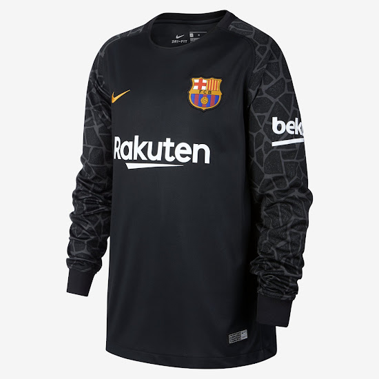 FC Barcelona camiseta portero 17 18