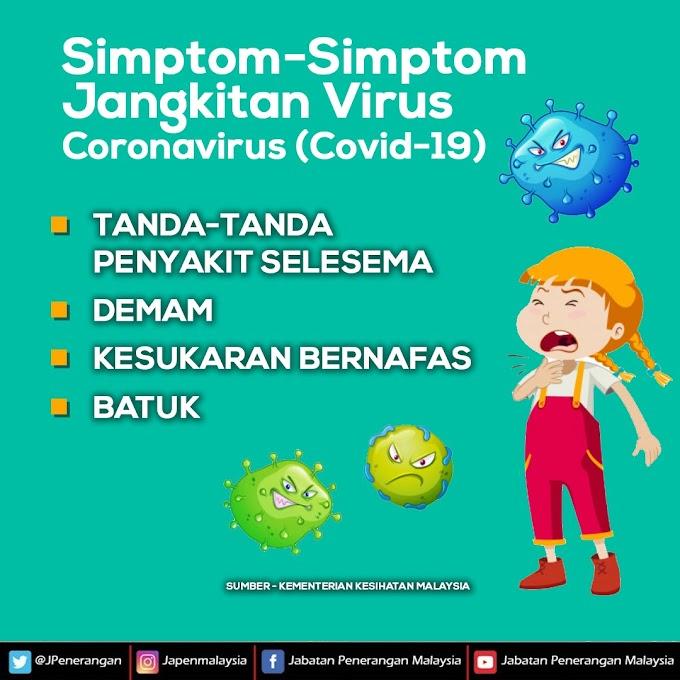 SIMPTOM-SIMPTOM DIJANGKITI VIRUS COVID-19
