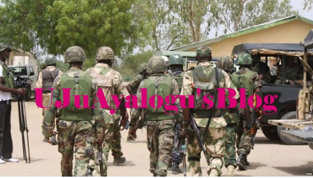 Soldiers Arrest Armed Herdsmen Planning To Attack Governor Ortom's Farm In Benue State