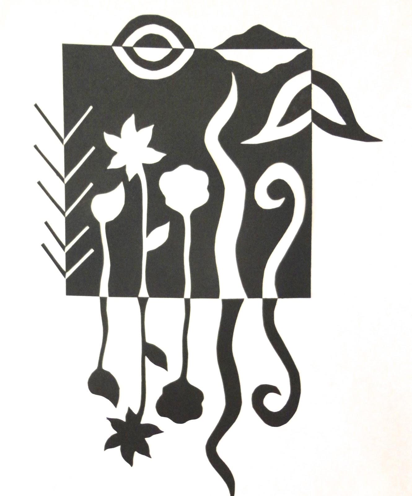 Art Mash Japanese Notan Designs