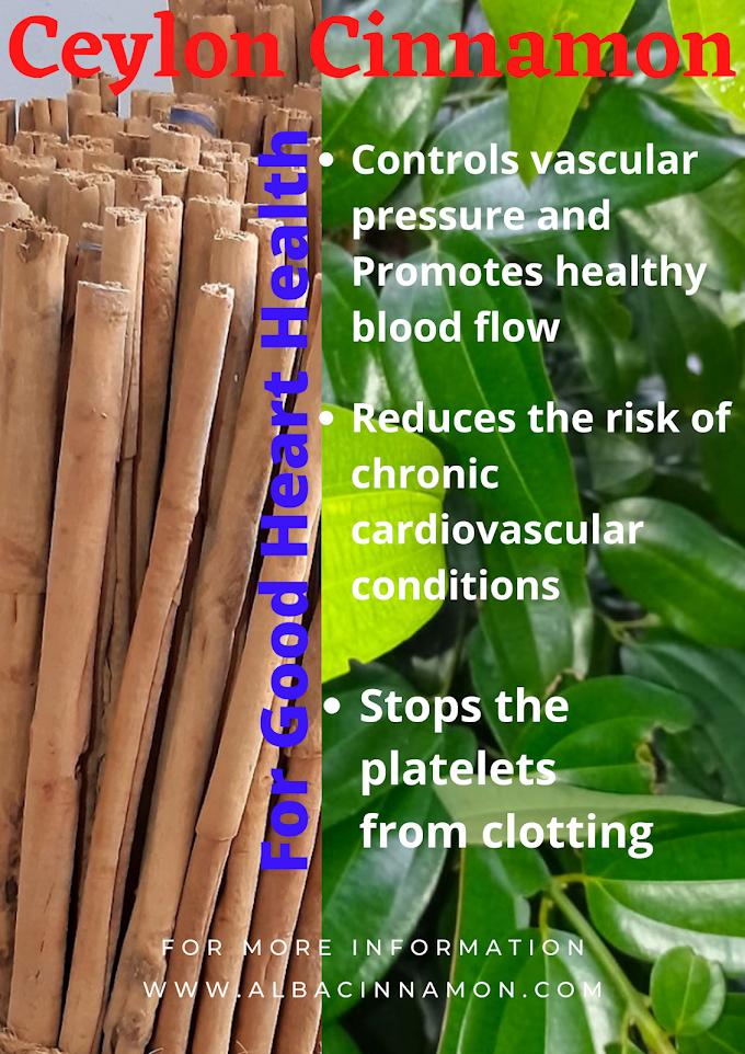 Ceylon Cinnamon for Good Heart Health