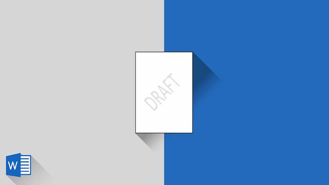 Panduan Lengkap Menyisipkan Watermark di Word 2019