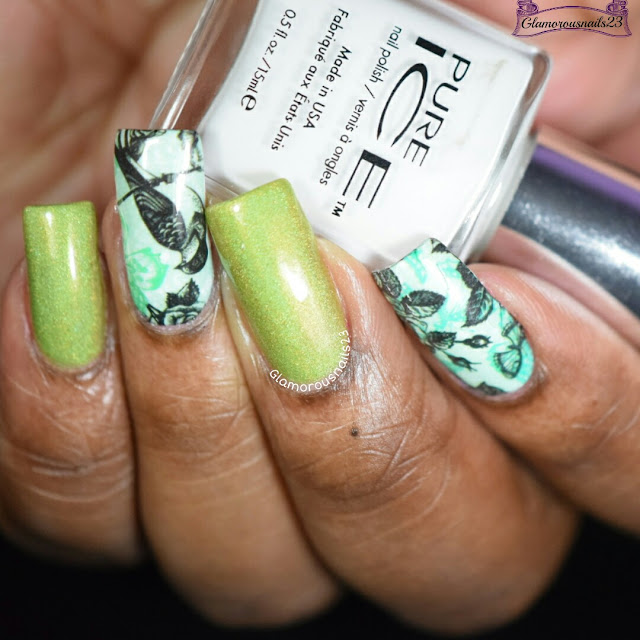 Nicole Diary #12 Natural Pattern Water Decals