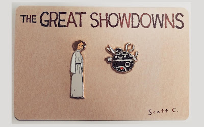 San Diego Comic-Con 2020 Exclusive The Great Showdowns Pin Sets by Scott C.