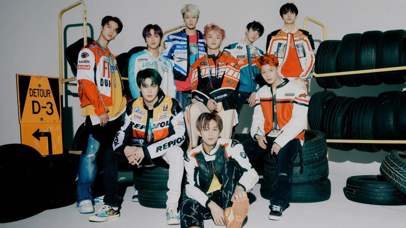 NCT 127 Become a Handsome Racers On The 'Neo Zone: The Final Round' Teaser