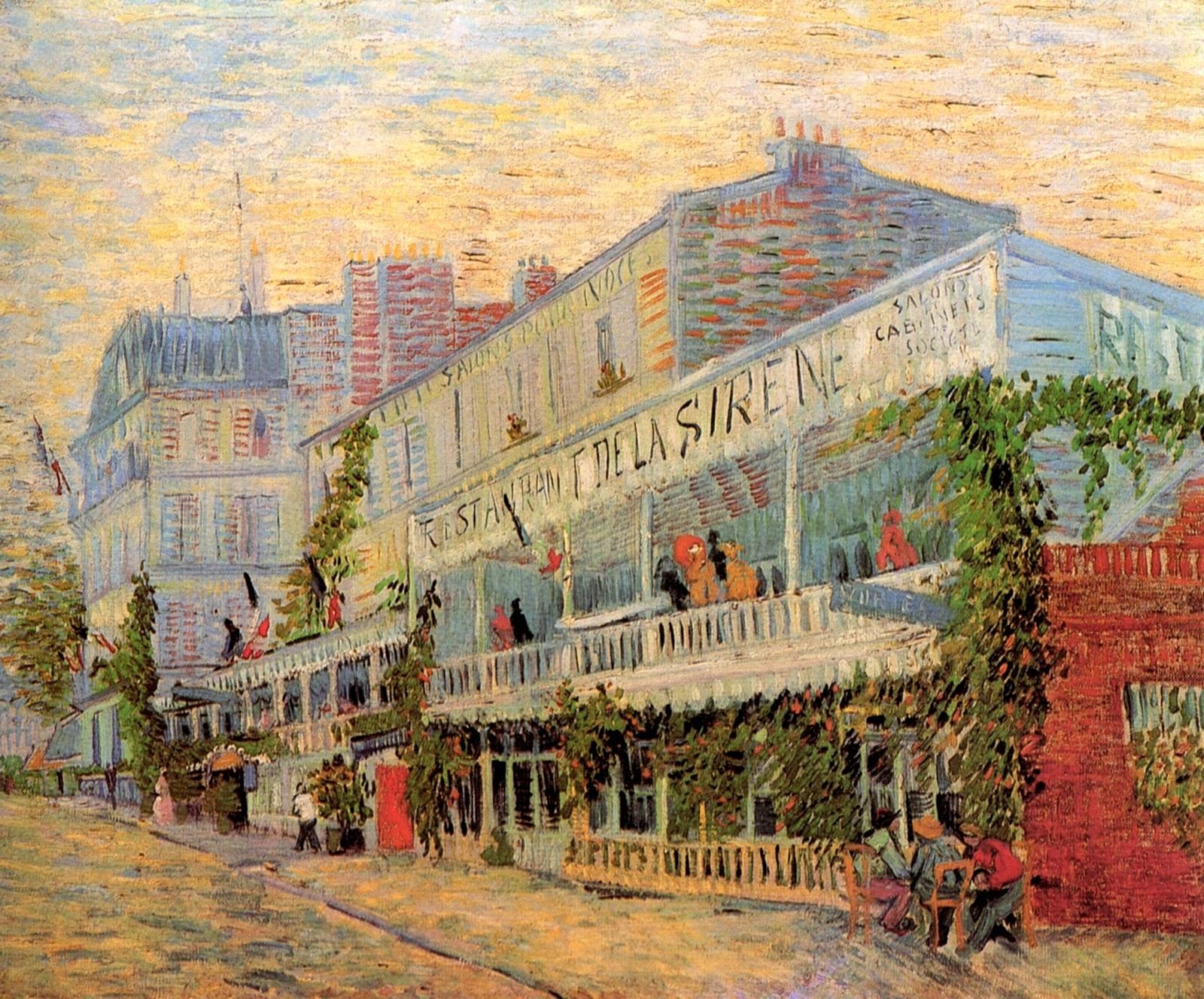 Van Gogh Restaurant Menu