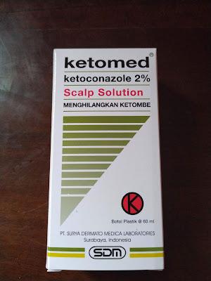 Obat Ketombe pada kulit kepala