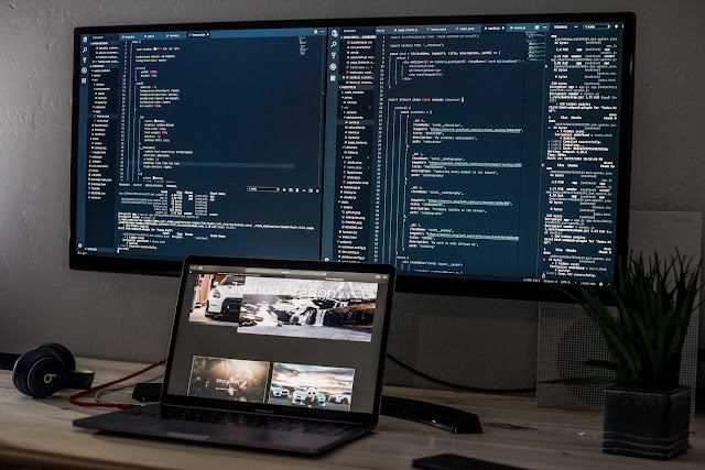 anime dual monitor wallpaper